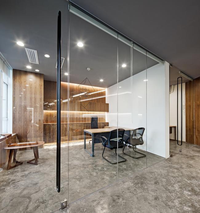 案例赏析---200平方办公室如何做出400平设计很重