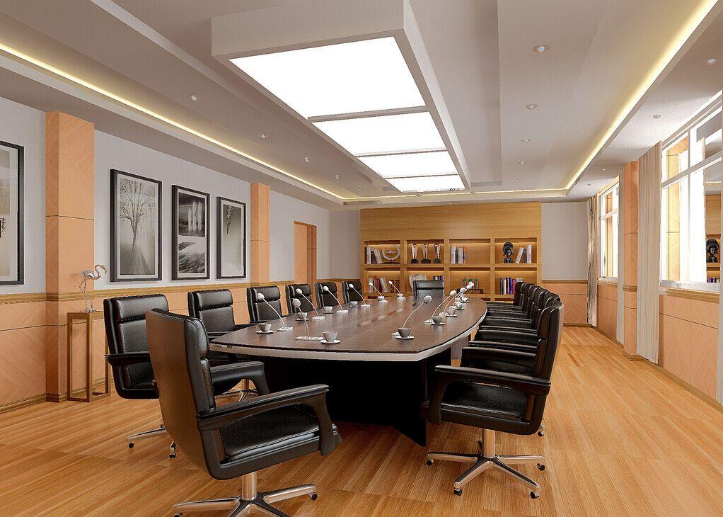 中海弘方装饰---300平办公室装修设计